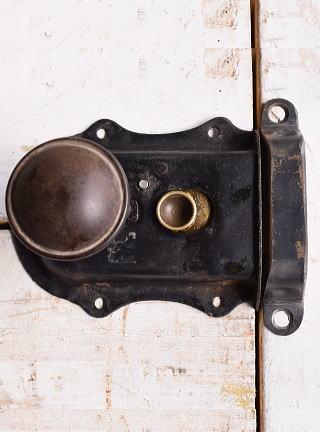 イギリス アンティーク ラッチ&ドアノブ 建具金物 10078