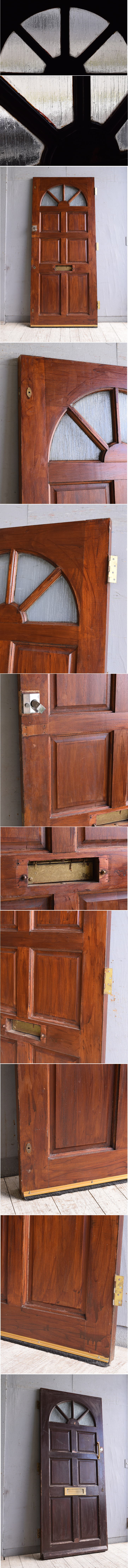 イギリス アンティーク ドア 扉 建具 10086