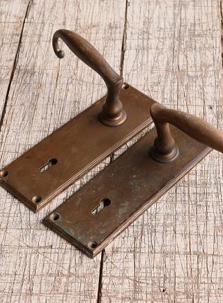 イギリス アンティーク ラッチ&ドアノブ 建具金物 10089