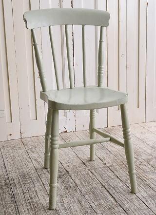 イギリス アンティーク家具 キッチンチェア 椅子 10125