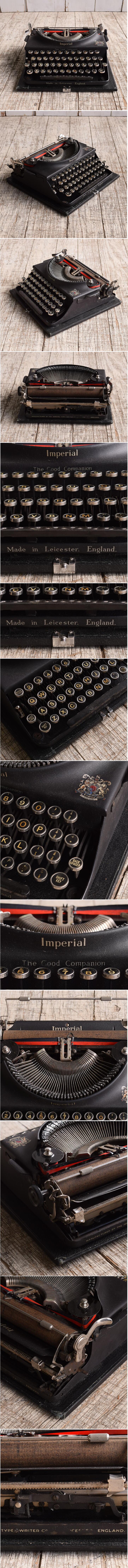 イギリスアンティーク タイプライター ディスプレイ 10136