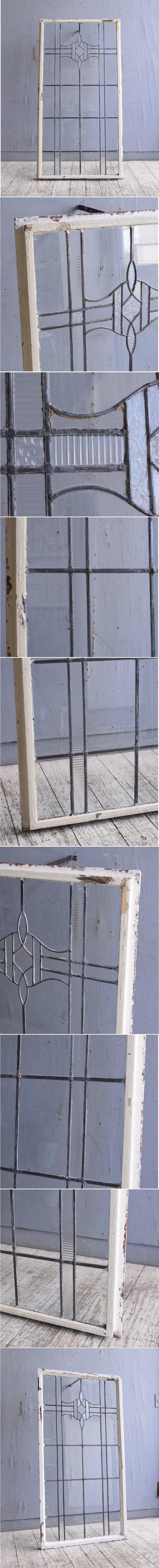イギリス アンティーク 窓 無色透明 10147