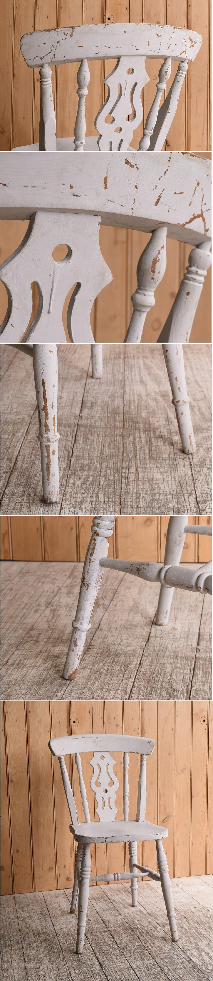 イギリス アンティーク家具 キッチンチェア 椅子 10160