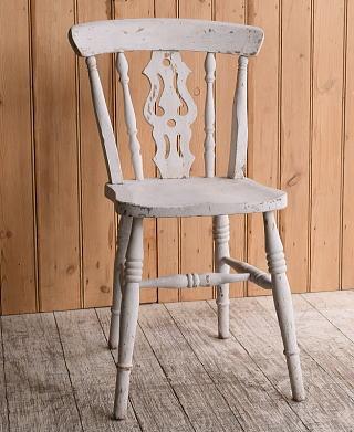 イギリス アンティーク家具 キッチンチェア 椅子 10161