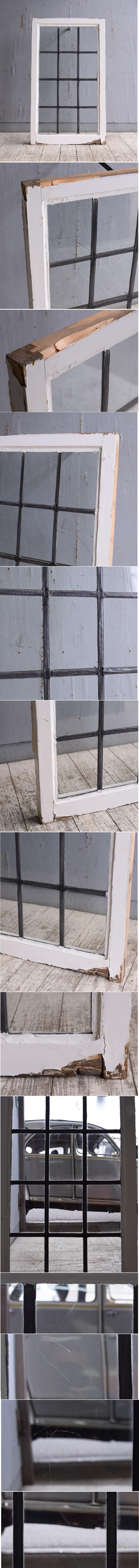 イギリス アンティーク 窓 無色透明 10179