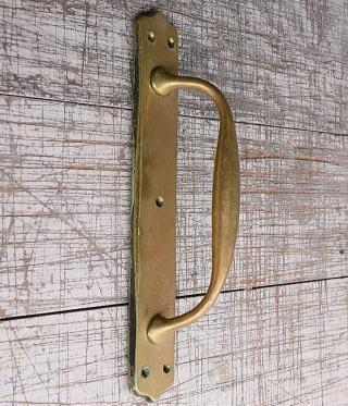イギリス アンティーク 真鍮 ドアハンドル 建具金物 取っ手 10199
