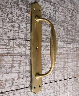 イギリス アンティーク 真鍮 ドアハンドル 建具金物 取っ手 10201