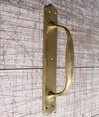 イギリス アンティーク 真鍮 ドアハンドル 建具金物 取っ手 10203