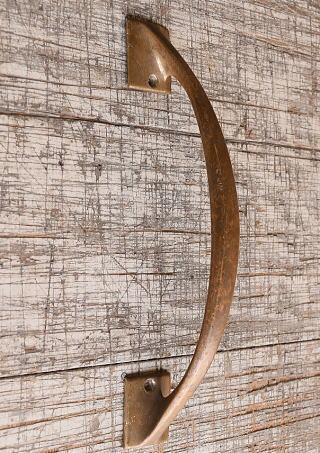 イギリス アンティーク 真鍮 ドアハンドル 建具金物 取っ手 10261