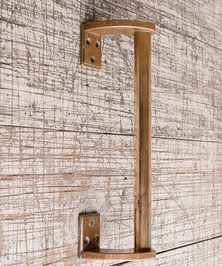 イギリス アンティーク 真鍮 ドアハンドル 建具金物 取っ手 10263