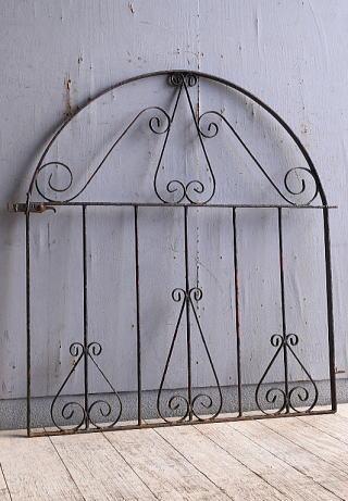イギリス アンティーク アイアンフェンス ゲート柵 10273