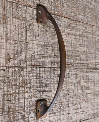 イギリス アンティーク 真鍮 ドアハンドル 建具金物 取っ手 10284