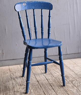 イギリス アンティーク家具 キッチンチェア 椅子 10346