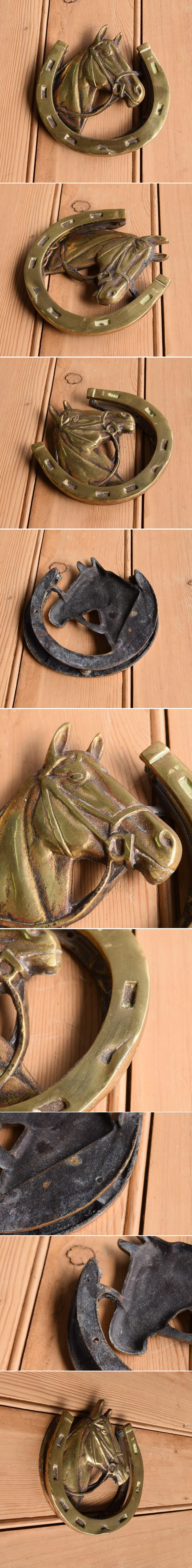 イギリス アンティーク 真鍮製ドアノッカー 10353