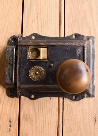 イギリス アンティーク ラッチ&ドアノブ 建具金物 10358
