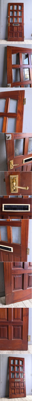 イギリス アンティーク ドア 扉 建具 10362