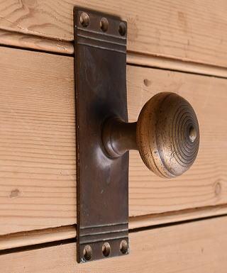 イギリス アンティーク ラッチ&ドアノブ 建具金物 10368