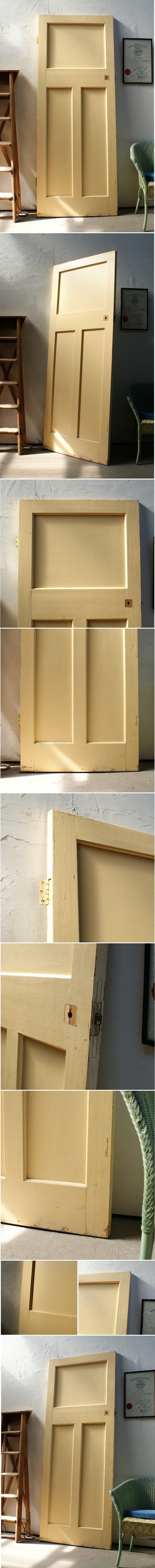 イギリス アンティーク 木製ドア 扉 ディスプレイ 建具 2977