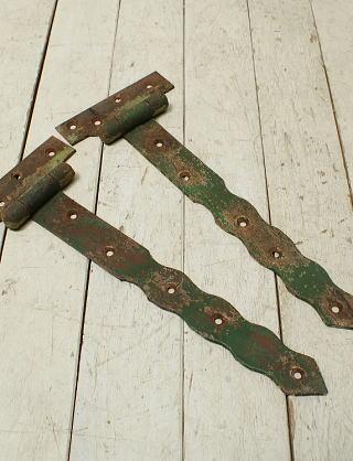 イギリス アンティーク 鉄製ヒンジ 建具金物 3240