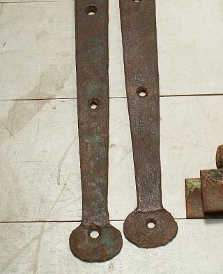 イギリス アンティーク 鉄製ヒンジ 建具金物 3241