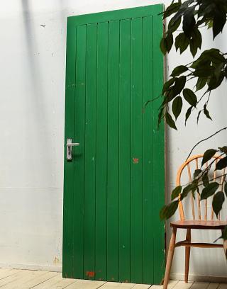 イギリスアンティーク 木製ドア 扉 建具 ディスプレイ 3972