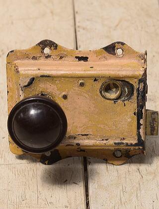 イギリス アンティーク ラッチ&ドアノブ 建具金物 4164