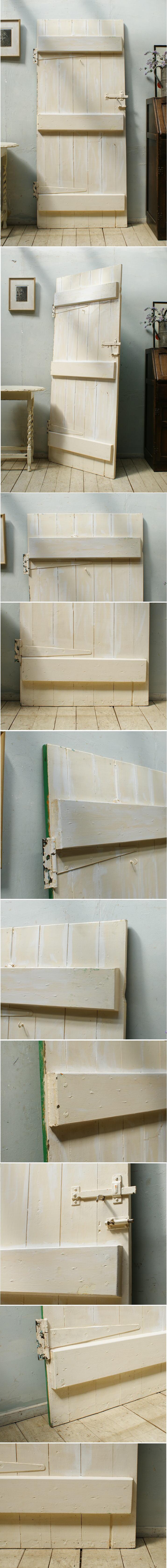 イギリス アンティーク 木製ドア ディスプレイ 建具 5191