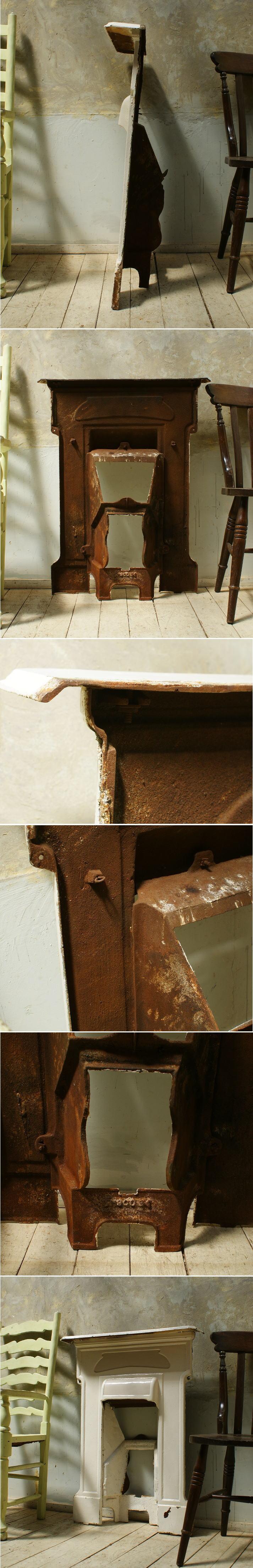 イギリス アンティーク ファイヤープレイス 暖炉 ディスプレイ 5667