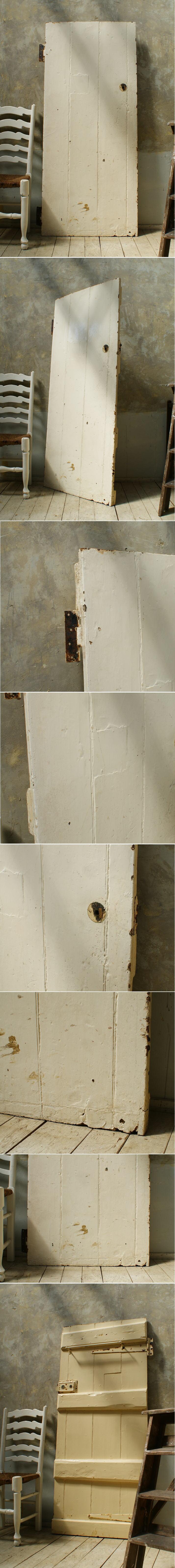 イギリス アンティーク 木製ドア 扉 ディスプレイ 建具 5721