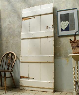 イギリス アンティーク 木製ドア 扉 ディスプレイ 建具 5750