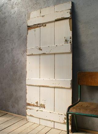 イギリス アンティーク 木製ドア 扉 ディスプレイ 建具 6054