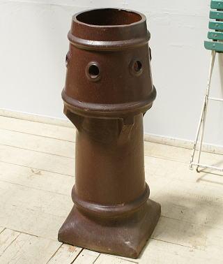 イギリス アンティーク チムニーポット 煙突 ガーデニング 6261