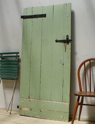 イギリス アンティーク 木製ドア 扉 ディスプレイ 建具 6268