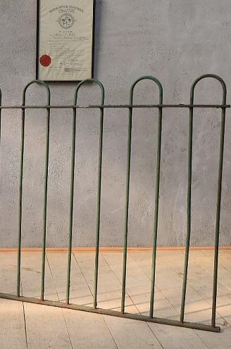 イギリス アンティーク アイアンフェンス ゲート柵 ガーデニング 6590