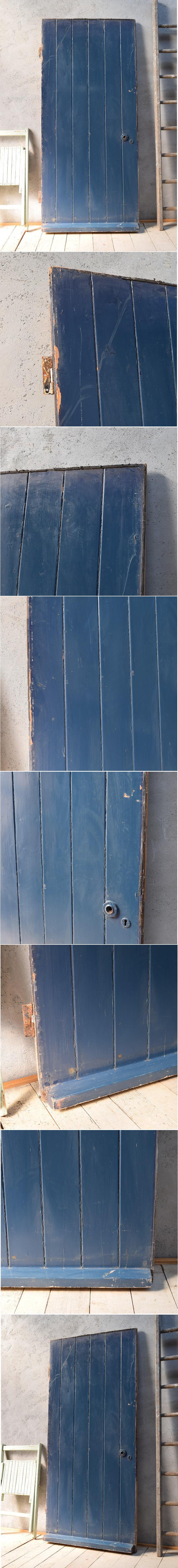 イギリス アンティーク 木製ドア 扉 ディスプレイ 建具 6782