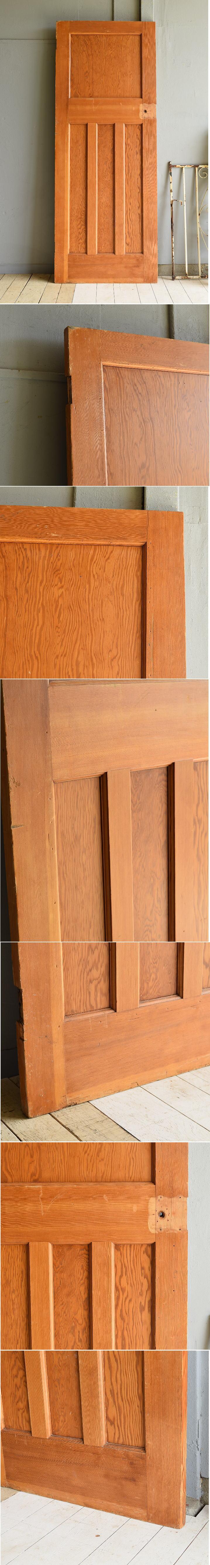 イギリス アンティーク パインドア 扉 建具 7045