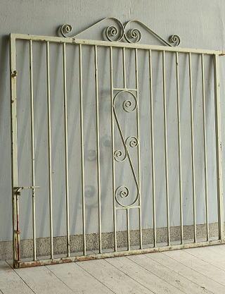 イギリス アンティーク アイアンフェンス ゲート柵 ガーデニング 10059