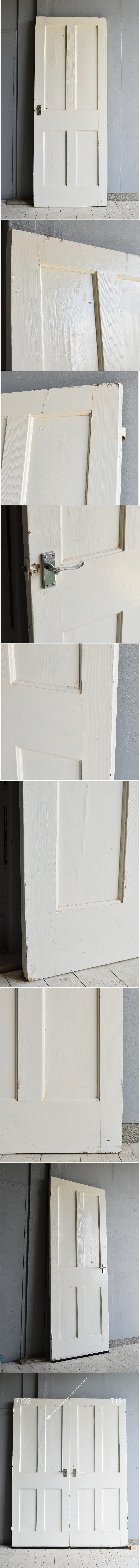 イギリス アンティーク 木製ドア 建具 7192
