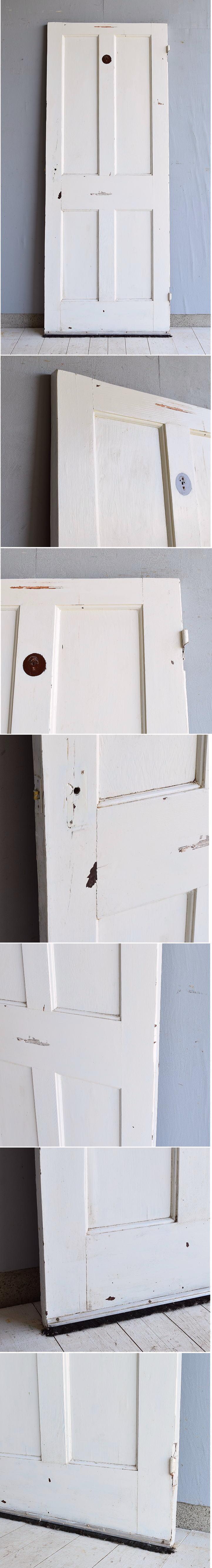 イギリス アンティーク 木製ドア 建具 7193