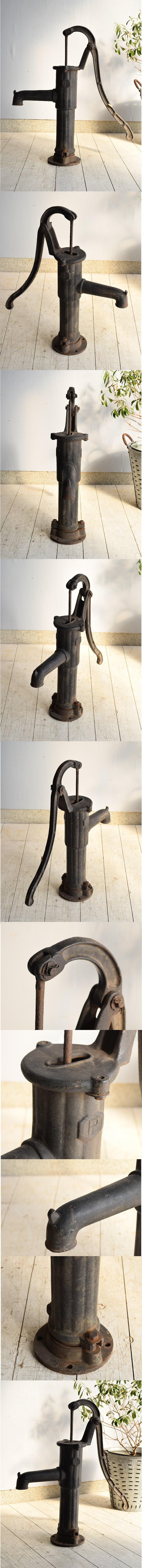 イギリス アンティーク ウォーターポンプ 井戸 ガーデニング 7527