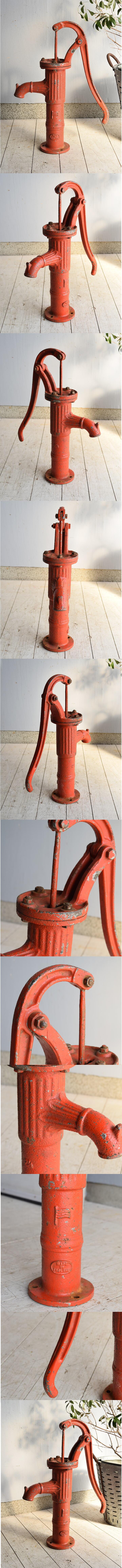 イギリス アンティーク ウォーターポンプ 井戸 ガーデニング 7529