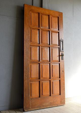 イギリス アンティーク 木製ドア 建具 7540
