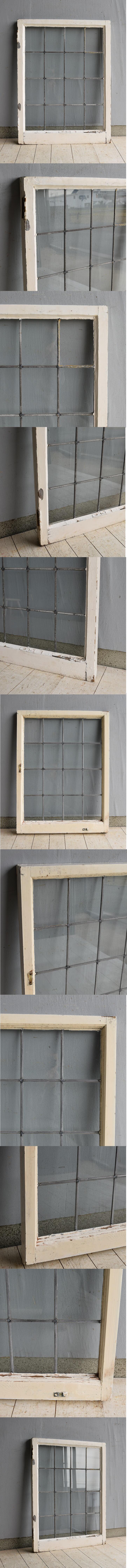 イギリス アンティーク 窓 格子窓 建具 7559