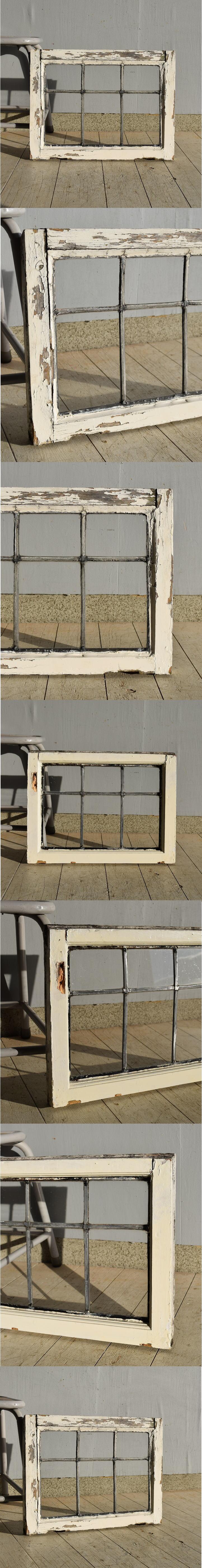 イギリス アンティーク 窓 格子窓 建具 7562
