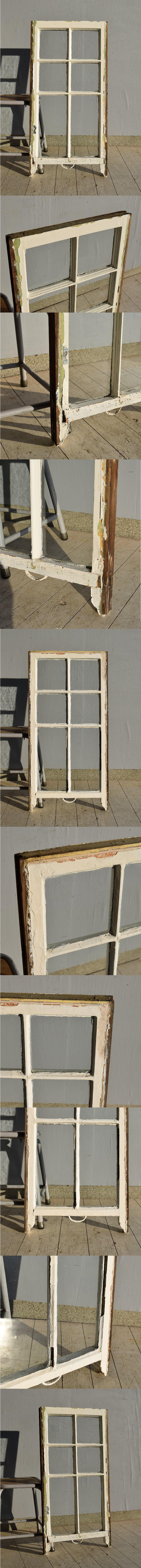 イギリス アンティーク 木製窓 ディスプレイ 建具 7567