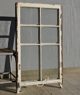イギリス アンティーク 木製窓 ディスプレイ 建具 7570