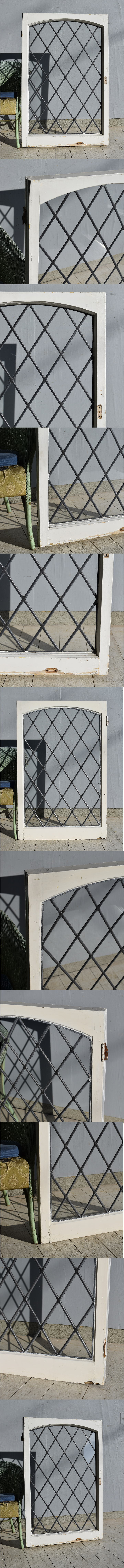 イギリス アンティーク 窓 ディスプレイ 建具 7576