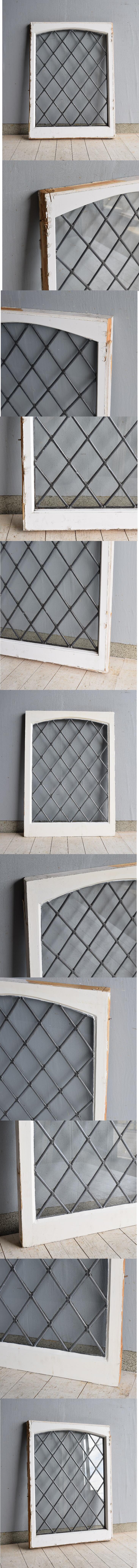 イギリス アンティーク 窓 ディスプレイ 建具 7577