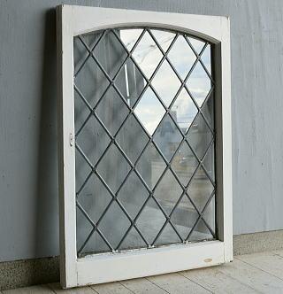 イギリス アンティーク 窓 ディスプレイ 建具 7579