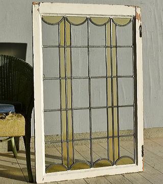 イギリス アンティーク ステンドグラス 窓 7580